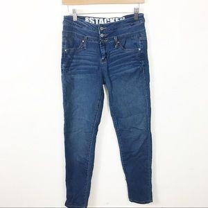 Rewash mid-rise jeans size 7